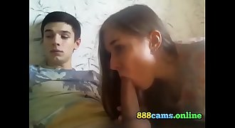 Beautiful young russian couple having sex - 888cams.online
