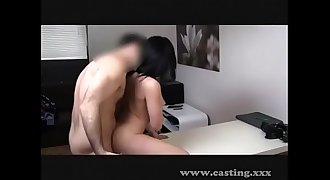 Casting Creampie Freak-out! -