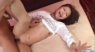 Japanese milf, Maika endures serious hardcore sex