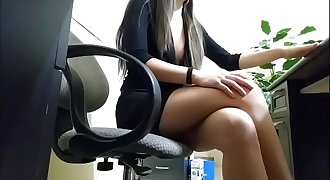 Asian fucks her boss BA60AFE